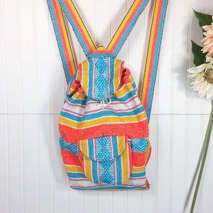 90's Beach Backpack